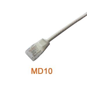 U/UTP  Slim CAT6A & CAT6 Patch Cord Cable