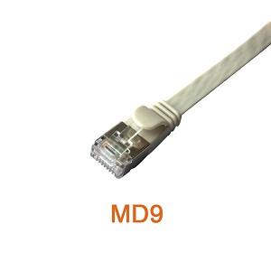 U/FTP Flat Slim CAT6A & CAT6 Patch Cord Cable
